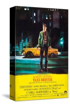 Taxi Driver, Robert De Niro, 1976--Stretched Canvas Print