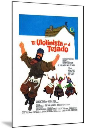 Fiddler on the Roof, 1971--Mounted Giclee Print