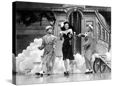 Sun Valley Serenade, Nicholas Brothers, Dorothy Dandridge, 1941, 'Chatanooga Choo Choo.'--Stretched Canvas Print