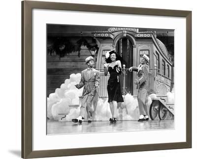 Sun Valley Serenade, Nicholas Brothers, Dorothy Dandridge, 1941, 'Chatanooga Choo Choo.'--Framed Photo
