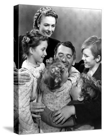 It's a Wonderful Life, 1946--Stretched Canvas Print