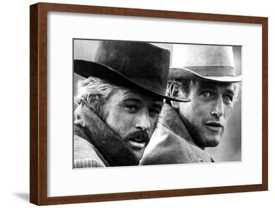 Butch Cassidy and the Sundance Kid, Robert Redford, Paul Newman, 1969--Framed Photo
