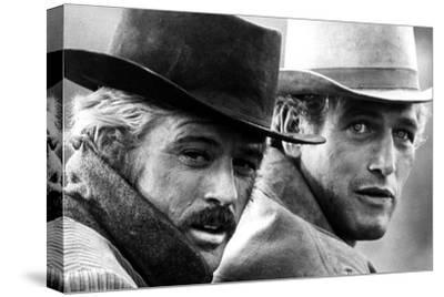 Butch Cassidy and the Sundance Kid, Robert Redford, Paul Newman, 1969--Stretched Canvas Print