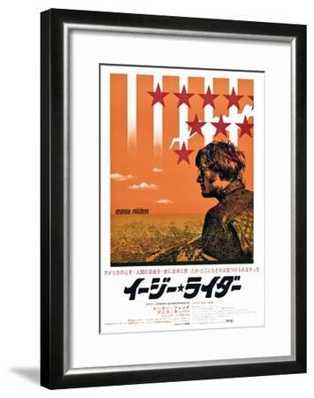 Easy Rider, Peter Fonda on Japanese Poster Art, 1969--Framed Giclee Print