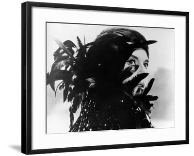 Last Year at Marienbad, (aka L'Annee Derniere a Marienbad), Delphine Seyrig, 1961--Framed Photo