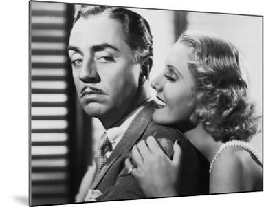 The Ex-Mrs. Bradford, from Left: William Powell, Jean Arthur, 1936--Mounted Photo