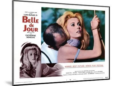Belle de Jour, Michel Piccoli, Catherine Deneuve, 1967--Mounted Giclee Print