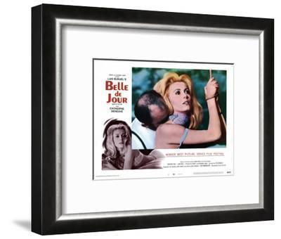Belle de Jour, Michel Piccoli, Catherine Deneuve, 1967--Framed Giclee Print