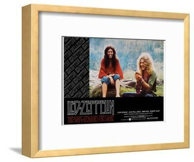 The Song Remains the Same, Robert Plant, 1976--Framed Giclee Print