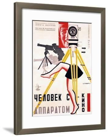 The Man with a Movie Camera, 1929--Framed Giclee Print