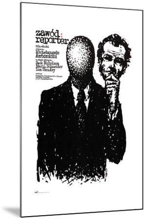 The Passenger, (aka Professione), Polish Poster Art, 1975--Mounted Giclee Print