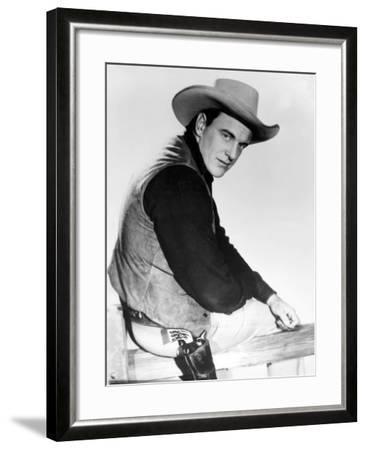 Gunsmoke, James Arness, 1955-1975--Framed Photo