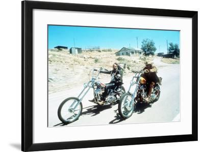 Easy Rider, Peter Fonda, Dennis Hopper, 1969--Framed Photo