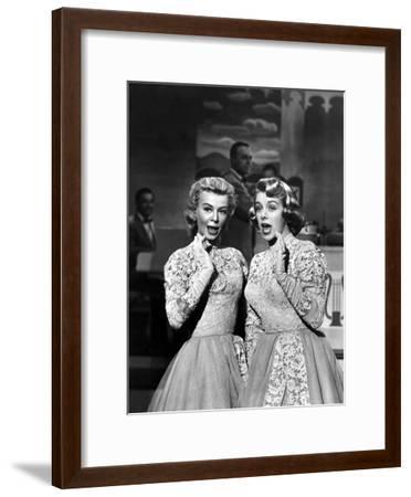 White Christmas, Vera-Ellen, Rosemary Clooney, 1954--Framed Photo