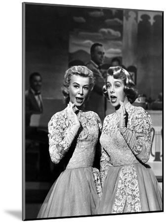 White Christmas, Vera-Ellen, Rosemary Clooney, 1954--Mounted Photo