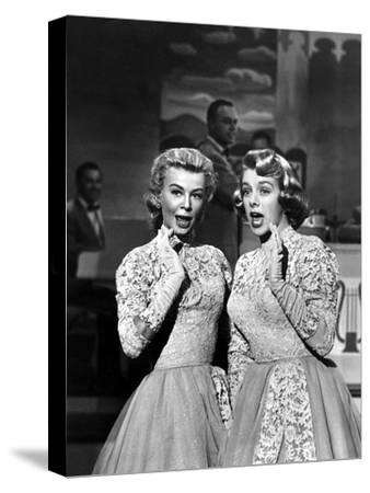 White Christmas, Vera-Ellen, Rosemary Clooney, 1954--Stretched Canvas Print