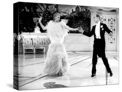 Top Hat, Ginger Rogers, Fred Astaire, 1935--Stretched Canvas Print