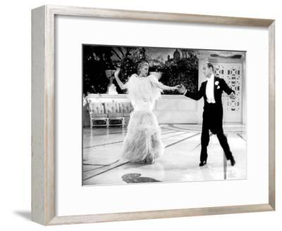 Top Hat, Ginger Rogers, Fred Astaire, 1935--Framed Photo