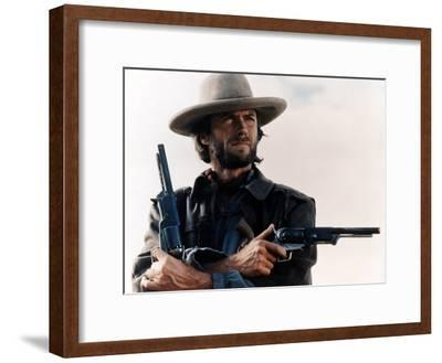 The Outlaw Josey Wales, Clint Eastwood, 1976--Framed Photo