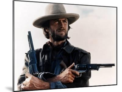 The Outlaw Josey Wales, Clint Eastwood, 1976--Mounted Photo