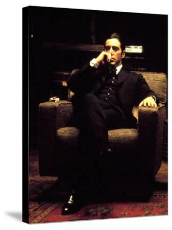 The Godfather: Part II, Al Pacino, 1974--Stretched Canvas Print