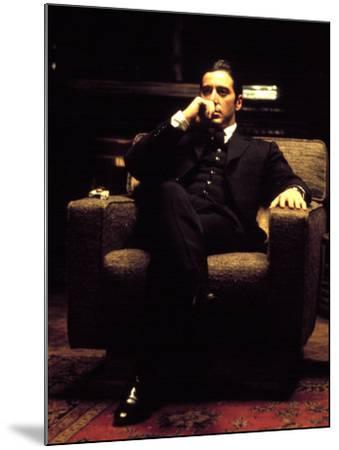 The Godfather: Part II, Al Pacino, 1974--Mounted Photo
