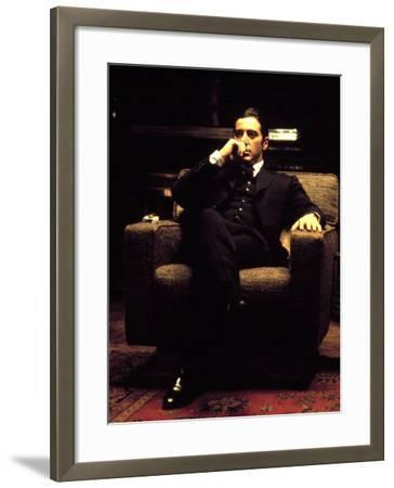 The Godfather: Part II, Al Pacino, 1974--Framed Photo