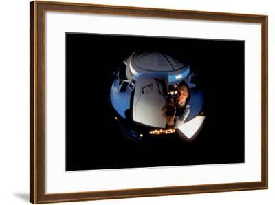 2001: A Space Odyssey, Keir Dullea as Seen Through Hal, 1968--Framed Photo