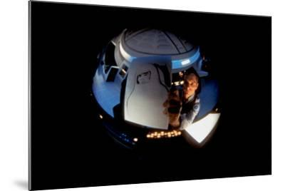 2001: A Space Odyssey, Keir Dullea as Seen Through Hal, 1968--Mounted Photo
