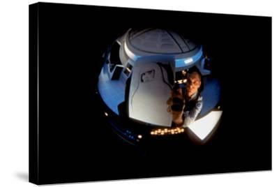 2001: A Space Odyssey, Keir Dullea as Seen Through Hal, 1968--Stretched Canvas Print