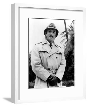 Peter Sellers in Return of the Pink Panther, 1975--Framed Photo
