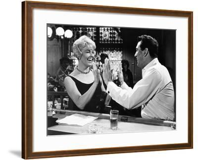 Pillow Talk, Doris Day, Rock Hudson, 1959--Framed Photo