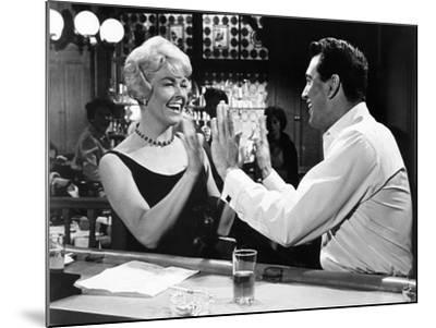 Pillow Talk, Doris Day, Rock Hudson, 1959--Mounted Photo