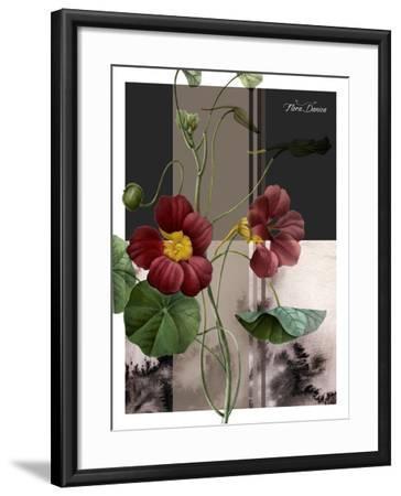Red Flower-Flora Danica-Framed Art Print