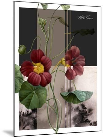 Red Flower-Flora Danica-Mounted Art Print