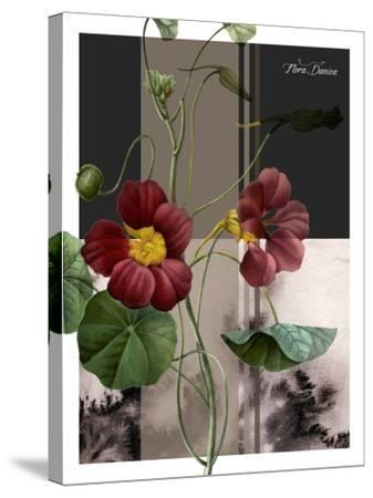 Red Flower-Flora Danica-Stretched Canvas Print