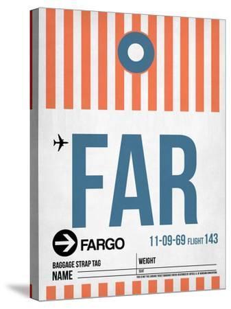 FAR Fargo Luggage Tag II-NaxArt-Stretched Canvas Print