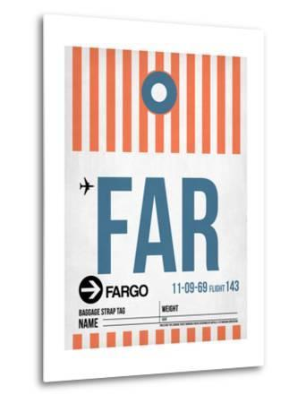 FAR Fargo Luggage Tag II-NaxArt-Metal Print
