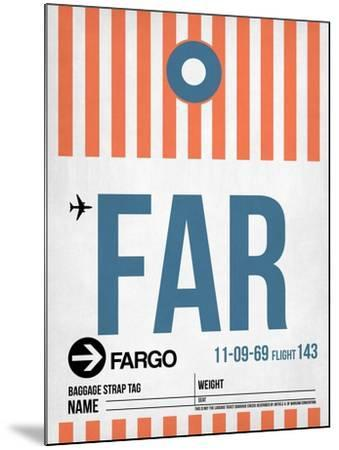 FAR Fargo Luggage Tag II-NaxArt-Mounted Art Print