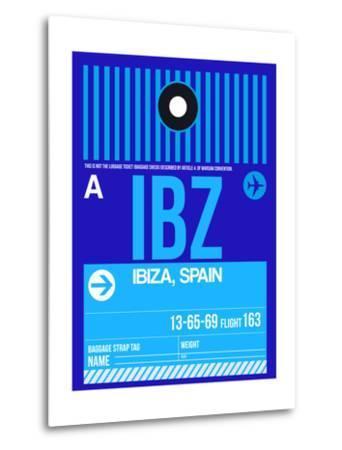 IBZ Ibiza Luggage Tag II-NaxArt-Metal Print