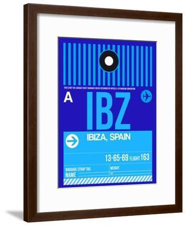 IBZ Ibiza Luggage Tag II-NaxArt-Framed Art Print
