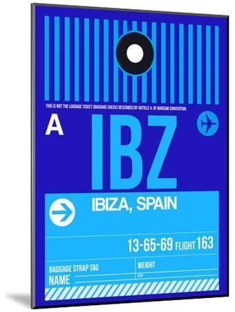 IBZ Ibiza Luggage Tag II-NaxArt-Mounted Art Print