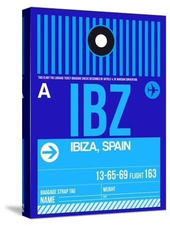 IBZ Ibiza Luggage Tag II-NaxArt-Stretched Canvas Print