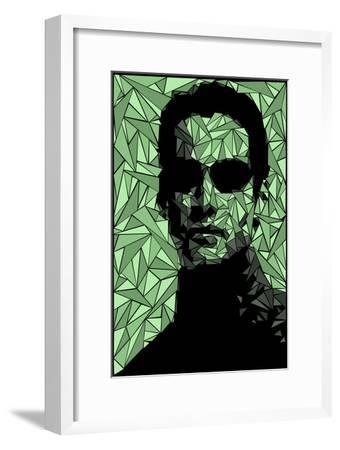 Neo Matrix-Cristian Mielu-Framed Premium Giclee Print