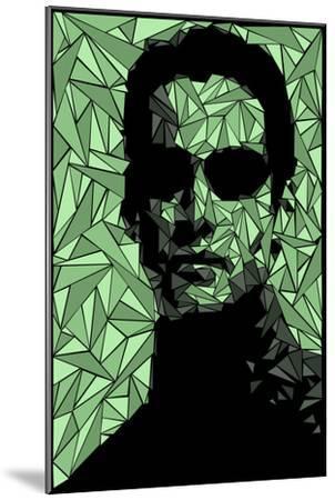Neo Matrix-Cristian Mielu-Mounted Premium Giclee Print