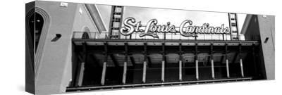 Low Angle View of the Busch Stadium in St. Louis, Missouri, USA--Stretched Canvas Print
