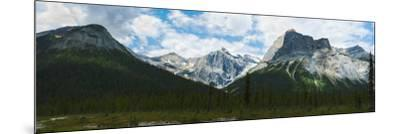 Clouds over Mountains, Emerald Peak, Yoho National Park, Golden, British Columbia, Canada--Mounted Photographic Print