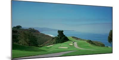 Golf Course at the Coast, Torrey Pines Golf Course, San Diego, California, USA--Mounted Photographic Print