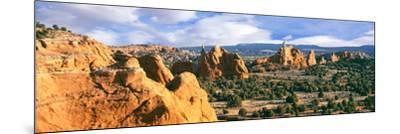 Rock Formations on a Landscape, Kodachrome Basin State Park, Utah, USA--Mounted Photographic Print