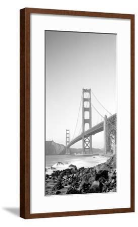 Usa, California, San Francisco, Golden Gate Bridge--Framed Photographic Print